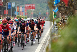 Hannah Ludwig (GER) in the bunch at GREE Tour of Guangxi Women's WorldTour 2019 a 145.8 km road race in Guilin, China on October 22, 2019. Photo by Sean Robinson/velofocus.com