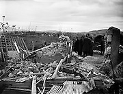 "Explosion at Border Cottages - Louth/Armagh. Part of the IRAs Border Campaign..11/11/1957..The Border Campaign (12/12/1956 - 26/02/1962) was a campaign of guerrilla warfare (codenamed Operation Harvest) carried out by the Irish Republican Army (IRA) against targets in Northern Ireland, with the aim of overthrowing British rule there and creating a united Ireland..Popularly referred to as the Border Campaign, it was also referred to as the ""Resistance Campaign"" by some republican activists. The campaign was a military failure, but for some of its members, the campaign was justified as it had kept the IRA engaged for another generation..This was the third republican campaign against the Northern Ireland polity. The first took place during the Irish War of Independence, the second took place from 1942-1944, and a fourth was to take place from 1969-1997..."