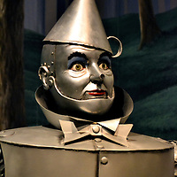 Tin Man from Wizard of Oz  at the Oz Museum in Wamego, Kansas<br />