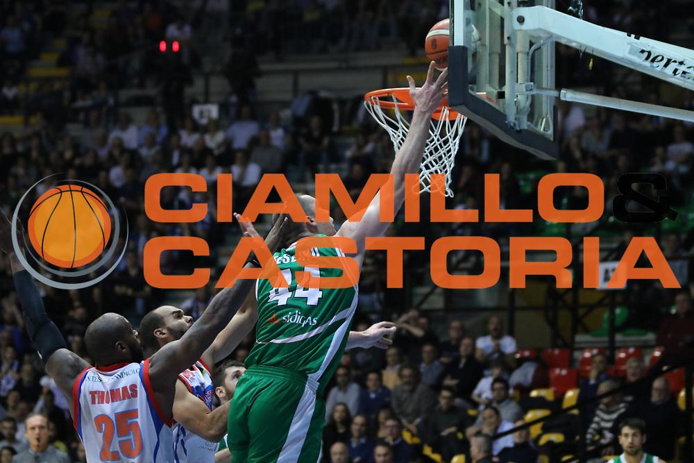 Fesenko Kyrylo<br /> Pallacanestro Cantu' - Sidigas Scandone Avellino<br /> Serie A  2017/2018<br /> Desio 04/03/2018<br /> Foto Ciamillo-Castoria