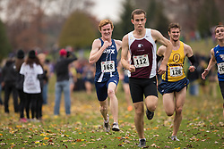 Alex Neuffer of the StFX X-Men runs in the men's  10K Run at the 2013 CIS Cross Country Championships in London Ontario, Saturday,  November 9, 2013.<br /> Mundo Sport Images/ Geoff Robins