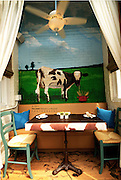 Cow Themed Seating Arrangement in Cow Harbor, Northport Long Island