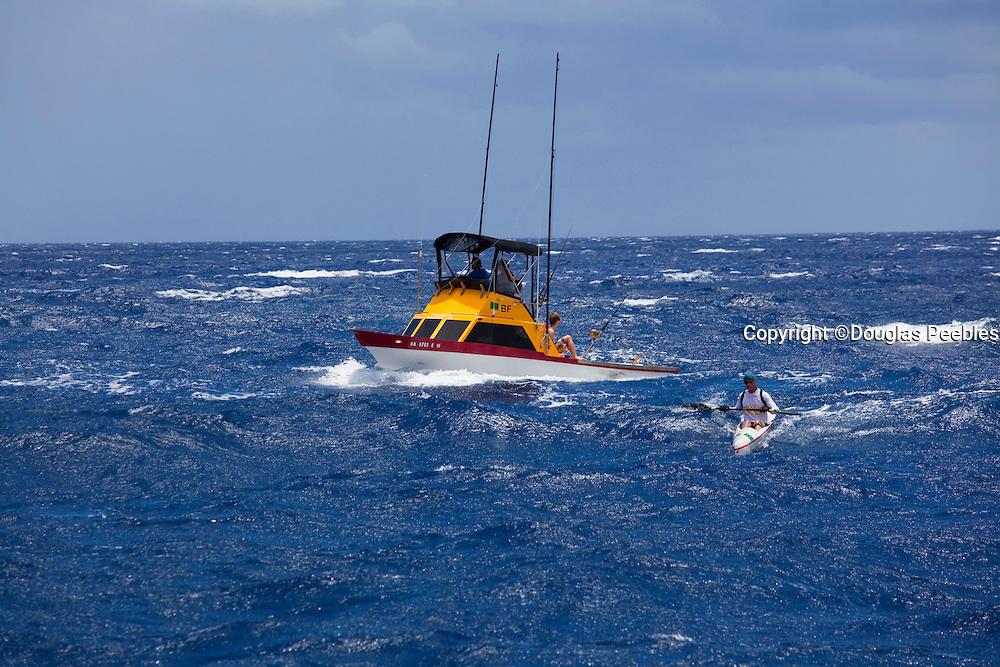 Canoe race, Molokai to Oahu, Hawaii