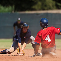 Baseball - MLB European Academy - Tirrenia (Italy) - 20/08/2009 - Lukas Steinlein (Germany)
