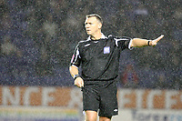Photo: Pete Lorence/Sportsbeat Images.<br />Leicester City v Burnley. Coca Cola Championship. 10/11/2007.<br />Match referee, Clive Penton, during the match.