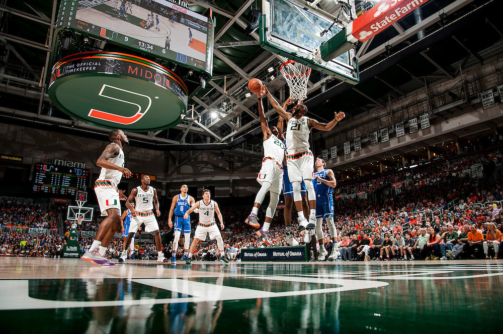 2017 Miami Hurricanes Men's Basketball vs Duke