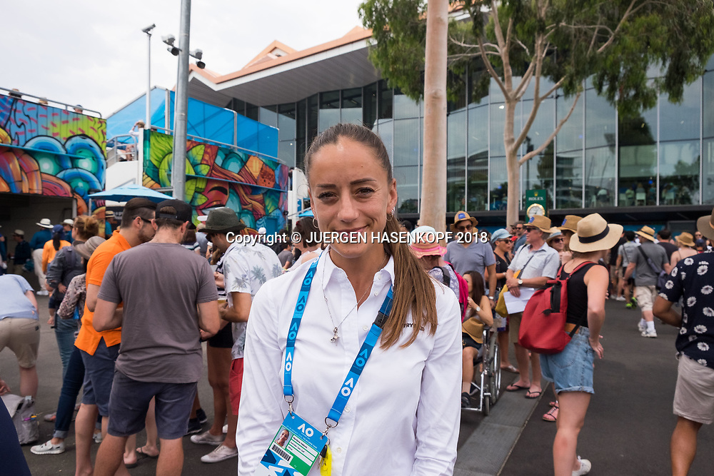 FEATURE Australian Open<br /> <br /> Tennis - Australian Open 2018 - Grand Slam / ATP / WTA -  Melbourne  Park - Melbourne - Victoria - Australia  - 20 January 2018.
