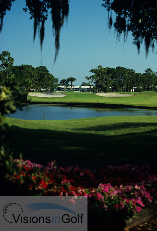 Palm Aire  G &amp; CC, champions course, Sarasota, Florida, USA<br /> 12th<br /> Photo Credit: Charles Briscoe-Knight / visionsIngolf.com