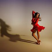 Miss UVU 2018 Natalie Jaco in the studio on the campus of Utah Valley University in Orem, Utah on Wednesday Nov. 15, 2017. (August Miller, UVU Marketing)