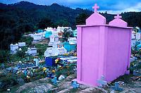 Guatemala - Chichicastenango - Cimetiere des indiens Quichés