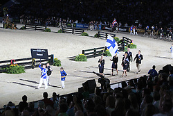 Openingceremony: Team Finland<br /> World Equestrian Games Lexington - Kentucky 2010<br /> © Dirk Caremans
