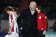 Onderwerp/Subject: Willem II - Eredivisie<br /> Reklame:  <br /> Club/Team/Country: <br /> Seizoen/Season: 2012/2013<br /> FOTO/PHOTO: Coach Jurgen STREPPEL (FRONT) of Willem II and Simon VAN ZEELST (BEHIND) of Willem II. (Photo by PICS UNITED)<br /> <br /> Trefwoorden/Keywords: <br /> #02 $94 &plusmn;1355239962240 &plusmn;1355239962240<br /> Photo- &amp; Copyrights &copy; PICS UNITED <br /> P.O. Box 7164 - 5605 BE  EINDHOVEN (THE NETHERLANDS) <br /> Phone +31 (0)40 296 28 00 <br /> Fax +31 (0) 40 248 47 43 <br /> http://www.pics-united.com <br /> e-mail : sales@pics-united.com (If you would like to raise any issues regarding any aspects of products / service of PICS UNITED) or <br /> e-mail : sales@pics-united.com   <br /> <br /> ATTENTIE: <br /> Publicatie ook bij aanbieding door derden is slechts toegestaan na verkregen toestemming van Pics United. <br /> VOLLEDIGE NAAMSVERMELDING IS VERPLICHT! (&copy; PICS UNITED/Naam Fotograaf, zie veld 4 van de bestandsinfo 'credits') <br /> ATTENTION:  <br /> &copy; Pics United. Reproduction/publication of this photo by any parties is only permitted after authorisation is sought and obtained from  PICS UNITED- THE NETHERLANDS