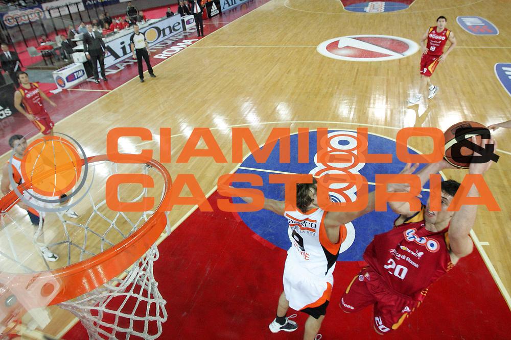 DESCRIZIONE : Roma Lega A1 2007-08 Lottomatica Virtus Roma Snaidero Udine<br />GIOCATORE : Roko Leni Ukic<br />SQUADRA : Lottomatica Virtus Roma<br />EVENTO : Campionato Lega A1 2007-2008<br />GARA : Lottomatica Virtus Roma Snaidero Udine<br />DATA : 16/12/2007<br />CATEGORIA : Special<br />SPORT : Pallacanestro<br />AUTORE : Agenzia Ciamillo-Castoria/G.Ciamillo