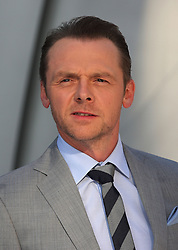 Simon Pegg during the International Film Premiere for Star Trek Into Darkness, The Empire Cinema,  London, UK, on 02 May 2013, 03 May 2013. Photo by:  i-Images