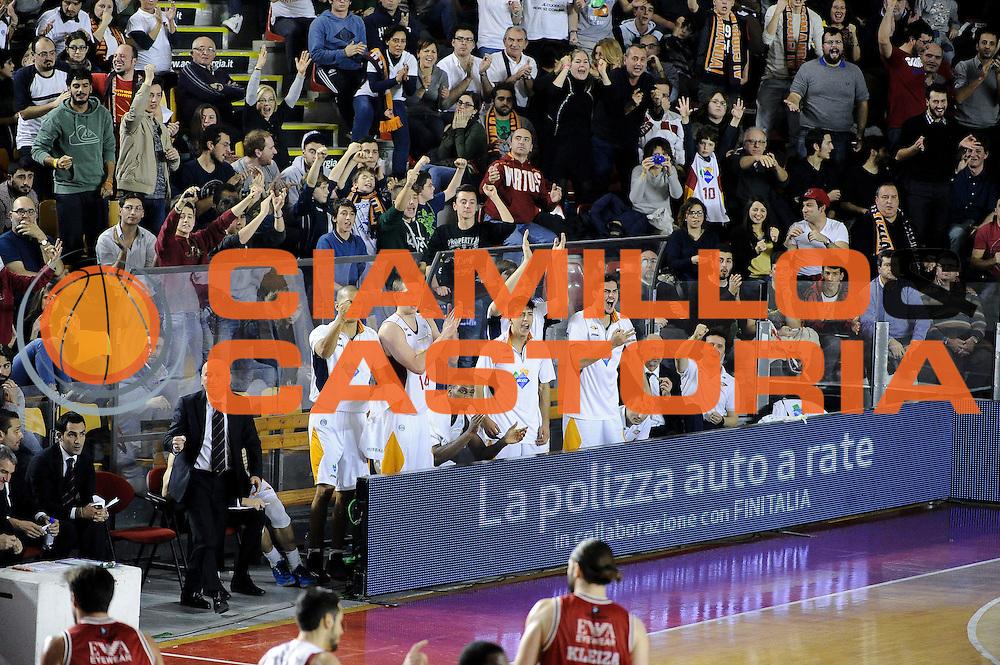 DESCRIZIONE : Roma Lega A 2014-15 <br /> Acea Roma EA7 Milano<br /> GIOCATORE : Acea Roma<br /> CATEGORIA : Esultanza<br /> SQUADRA : Acea Roma<br /> EVENTO : Lega A 2014-15 <br /> GARA : Acea Roma EA7 Milano<br /> DATA : 21/12/2014<br /> SPORT : Pallacanestro<br /> AUTORE : Agenzia Ciamillo-Castoria/giuliociamillo<br /> Galleria : Lega Basket A 2014-2015<br /> Fotonotizia : <br /> Predefinita :