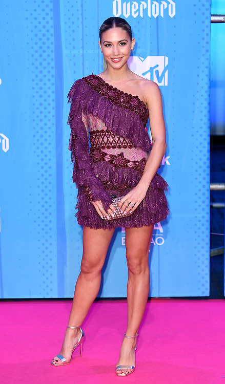 Ann Kathrin Gotze attending the MTV Europe Music Awards 2018 held at the Bilbao Exhibition Centre, Spain