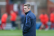 York City Assistant Manager Simon Donnolly   during the Sky Bet League 2 match between York City and Morecambe at Bootham Crescent, York, England on 19 December 2015. Photo by Simon Davies.