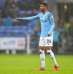 September 22, 2018 - Cardiff City, England, United Kingdom - Riyad Mahrez of Manchester City during the Premier League match between Cardiff City and Manchester City at Cardiff City Stadium,  Cardiff, England on 22 Sept 2018. (Credit Image: © Action Foto Sport/NurPhoto/ZUMA Press)