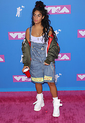 August 21, 2018 - New York City, New York, USA - 8/20/18.Jessie Reyez at the 2018 MTV Video Music Awards held at Radio City Music Hall in New York City..(NYC) (Credit Image: © Starmax/Newscom via ZUMA Press)