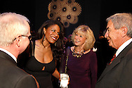 (from left) Ken Neufeld, Audra McDonald, Lois and Roger Sutherland during the VIP reception following the 10th Anniversary Concert at the Schuster Center in downtown Dayton, Friday, March 1, 2013.