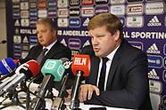 Rsc Anderlecht new head coach Hein Vanhaezebrouck - 03 October 2017