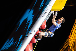 09.09.2018, Kletterzentrum, Innsbruck, AUT, IFSC, Kletter WM Innsbruck 2018, Halbfinale, Herren, Vorstieg, im Bild Loic Timmermans (BEL) // Loic Timmermans of Belgium during Semi-Finals of Men Lead for the IFSC Climbing World Championships 2018 at the Kletterzentrum in Innsbruck, Austria on 2018/09/09. EXPA Pictures © 2018, PhotoCredit: EXPA/ Johann Groder