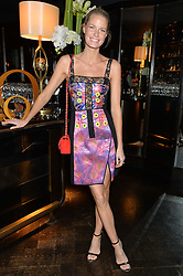 CAROLINE WINBERG at the OMEGA VIP dinner hosted by Cindy Crawford and OMEGA President Mr. Stephen Urquhart held at aqua shard', Level 31, The Shard, 31 St Thomas Street, London, SE1 9RY on 10th December 2014.