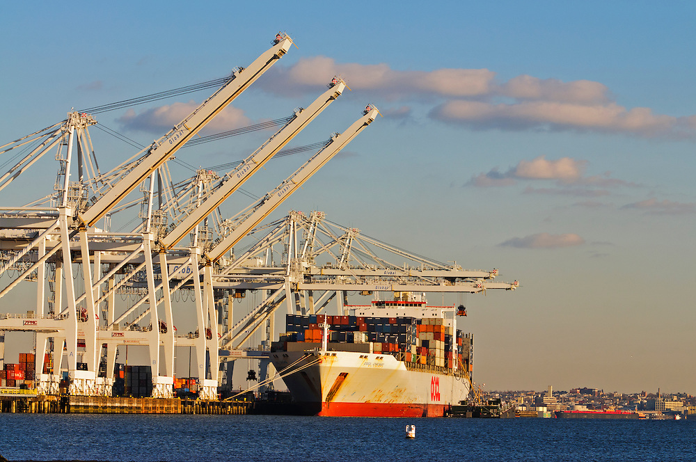 Crains, Container Ship, Global Terminal is located at 302 Port Jersey Blvd, Port Jersey, Jersey City,  New Jersey