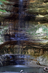 Waterfalls at St. Louis Canyon in Starved Rock State Park