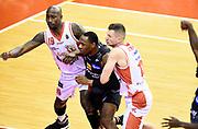 Jawad Williams Rimantas Kaukenas<br /> Grissin Bon Pallacanestro Reggio Emilia - Dolomiti Energia Aquila Basket Trento<br /> Lega Basket Serie A 2016/2017<br /> Reggio Emilia, 26/02/2017<br /> Foto A.Giberti / Ciamillo - Castoria
