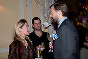 THIERRY LEVY; ANGIE KURDASH; PATRICK GRANT, Kate Reardon and Michael Roberts host a party to celebrate the launch of Vanity Fair on Couture. The Ballroom, Moet Hennessy, 13 Grosvenor Crescent. London. 27 October 2010. -DO NOT ARCHIVE-© Copyright Photograph by Dafydd Jones. 248 Clapham Rd. London SW9 0PZ. Tel 0207 820 0771. www.dafjones.com.