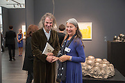 IVOR BRAKA; VICTORIA MIRO, VIP Opening of Frieze Masters. Regents Park, London. 9 October 2012