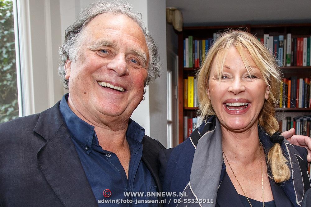 NLD/Amsterdam/20150331 - Boekpresentatie Altijd Viareggio van Rick Nieman, Jan Cremer en partner Babette Cremer-Sijmons