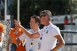 Van der Vleuten Maikel, Van der Vleuten Eric <br /> First Round<br /> Furusiyya FEI Nations Cup Jumping Final - Barcelona 2015<br /> © Dirk Caremans<br /> 24/09/15