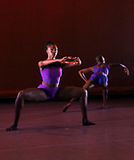 "performs during Ailey II's ""All New"" Program Preview at The Alvin Ailey Citigroup Theater in New York City, New York on March 13, 2018."