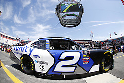 April 13, 2018 - Bristol, Tennessee, United States of America - April 13, 2018 - Bristol, Tennessee, USA: Matt Tifft (2) drives his car under Colossus TV during opening practice for the Fitzgerald Glider Kits 300 at Bristol Motor Speedway in Bristol, Tennessee. (Credit Image: © Chris Owens Asp Inc/ASP via ZUMA Wire)