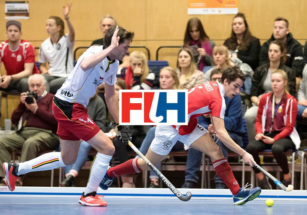 BERLIN - Indoor Hockey World Cup<br /> Austria - Belgium<br /> foto: EITENBERGER Sebastian<br /> WORLDSPORTPICS COPYRIGHT FRANK UIJLENBROEK