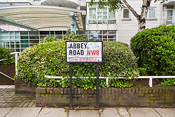 Royal Mail - Music themed streets - Abbey Road. London, May 30 2018.