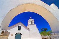 Iglesia de San Pedro (church), the Plaza, San Pedro de Atacama, Atacama Desert, Chile