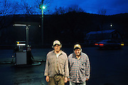 Brothers Larry and Stanley Armstrong recently bought the Middle Branch Market not far from their East Randolph Dairy Farm at a foreclosure auction. The brothers and brought the back to life with a deli, pizzeria and gas under its former manager Merradee Lyons. Thursday, March 8, 2012. <br /> Valley News - James M. Patterson<br /> jpatterson@vnews.com<br /> photo@vnews.com