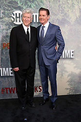 May 19, 2017 - Los Angeles, CA, USA - LOS ANGELES - MAY 19:  David Lynch, Kyle MacLachlan at the ''Twin Peaks'' Premiere Screening at The Theater at Ace Hotel on May 19, 2017 in Los Angeles, CA (Credit Image: © Kay Blake via ZUMA Wire)