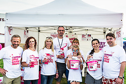 Little Havens Hospice volunteers at the Brownstock Festival in Essex.