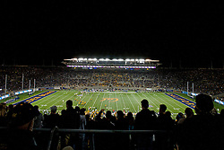 BERKELEY, CA - OCTOBER 06: General view of California Memorial Stadium during the second quarter between the California Golden Bears and the UCLA Bruins on October 6, 2012 in Berkeley, California. The California Golden Bears defeated the UCLA Bruins 43-17. (Photo by Jason O. Watson/Getty Images) *** Local Caption ***