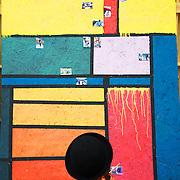 Hackney All Nations. Artist Sara Karpanen from Finland.