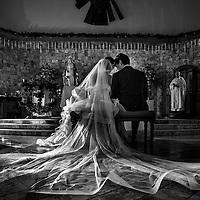 Andrea & Andrés wedding in Marina Vallarta's church in Puerto Vallarta, Jalisco Mexico. Photo by Melissa Suneson.