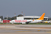 Israel, Ben-Gurion international Airport Pegasus Airlines