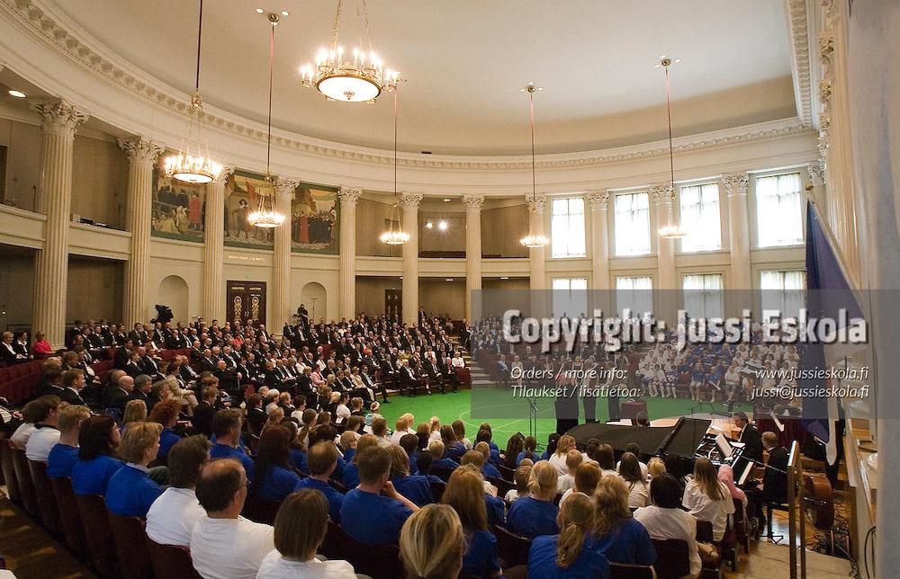 SPL 100-vuotisjuhlat. Photo: Jussi Eskola