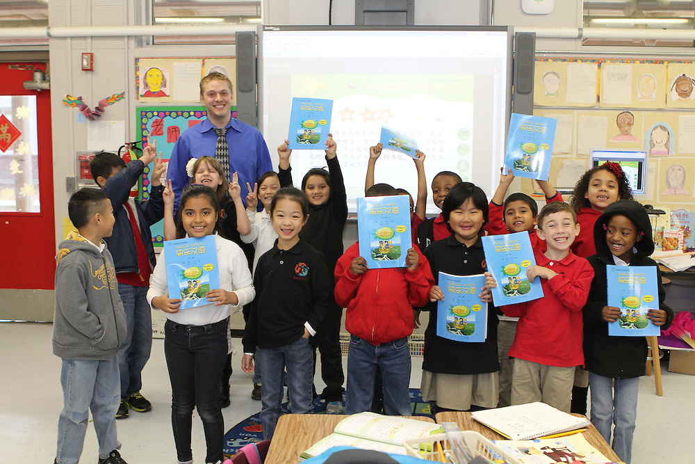 The Chinese Consulate donated 2,500 curriculum-based books, all in Mandarin Chinese, to the Mandarin Chinese Immersion School.<br />