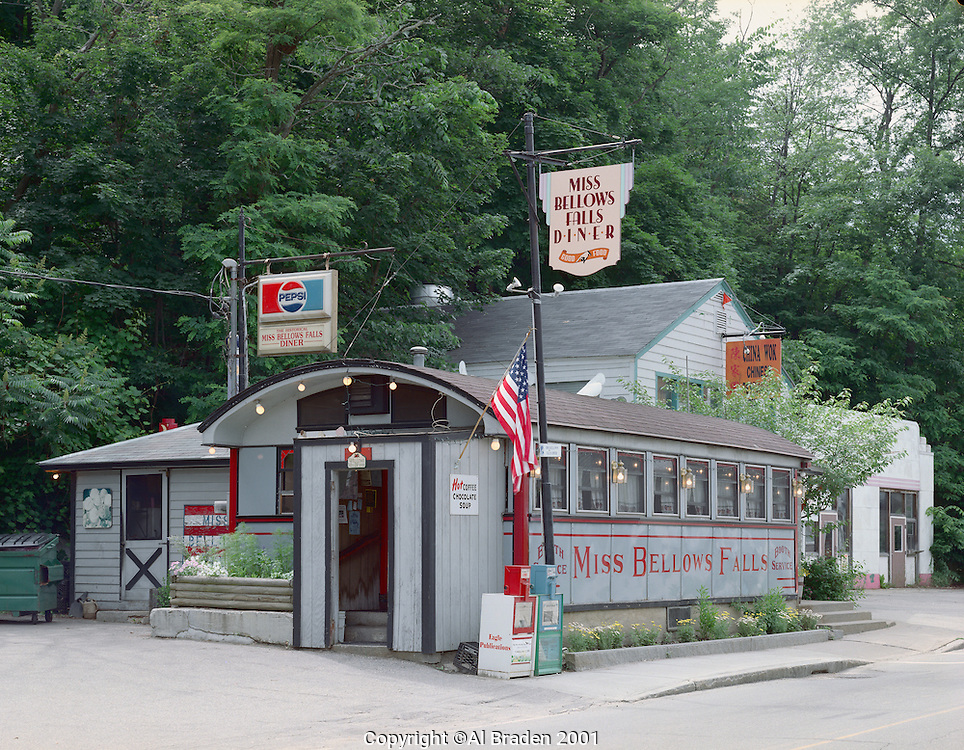 Miss Bellows Falls Diner, Bellows Falls, VT