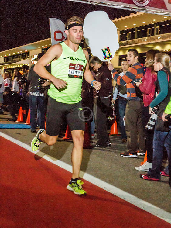 Beer Mile World Championships, Inaugural, Men's Elite race, Nick Symmonds